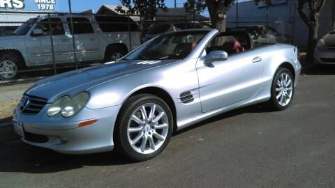 2003 Mercedes-Benz SL-Class for sale at Larry's Auto Sales Inc. in Fresno CA