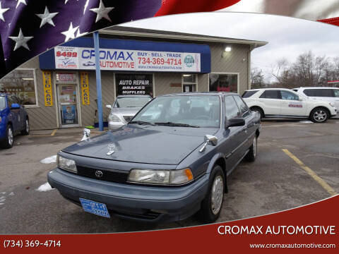 1991 Toyota Camry for sale at Cromax Automotive in Ann Arbor MI