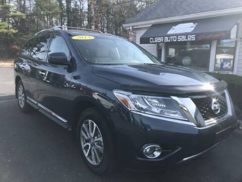 2013 Nissan Pathfinder for sale at Clear Auto Sales 2 in Dartmouth MA