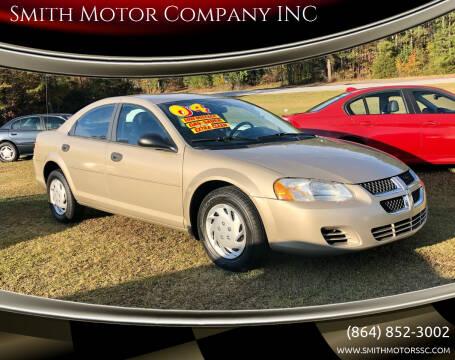 2004 Dodge Stratus for sale at Smith Motor Company INC in Mc Cormick SC