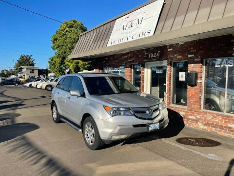 2008 Acura MDX for sale at M&M Auto Sales in Portland OR
