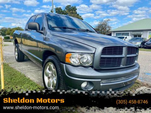 2003 Dodge Ram Pickup 1500 for sale at Sheldon Motors in Tampa FL