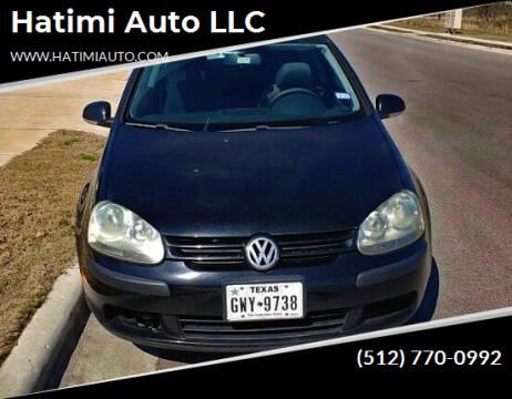 2008 Volkswagen Rabbit for sale at Hatimi Auto LLC in Buda TX