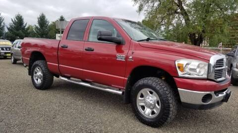 2007 Dodge Ram Pickup 3500 for sale at McMinnville Auto Sales LLC in Mcminnville OR