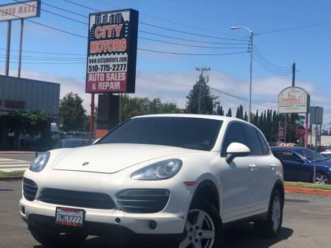 2011 Porsche Cayenne for sale at City Motors in Hayward CA