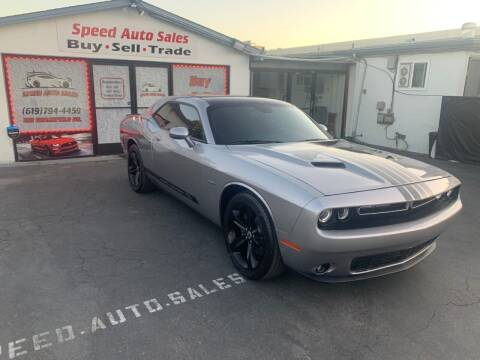 2017 Dodge Challenger for sale at Speed Auto Sales in El Cajon CA