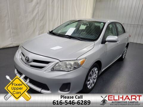 2012 Toyota Corolla for sale at Elhart Automotive Campus in Holland MI