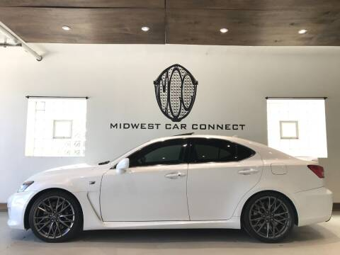2011 Lexus IS F for sale at Midwest Car Connect in Villa Park IL