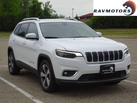 2019 Jeep Cherokee for sale at RAVMOTORS in Burnsville MN
