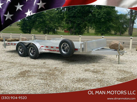 2021 WOLVERINE 7X18 CAR/EQUIPMENT for sale at Ol Man Motors LLC in Louisville OH