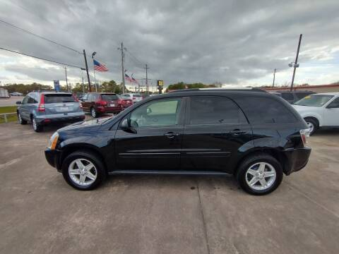 2005 Chevrolet Equinox for sale at BIG 7 USED CARS INC in League City TX