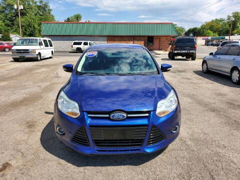 2012 Ford Focus for sale at Johnny's Motor Cars in Toledo OH