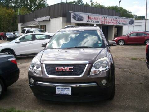 2009 GMC Acadia for sale at Louisiana Imports in Baton Rouge LA