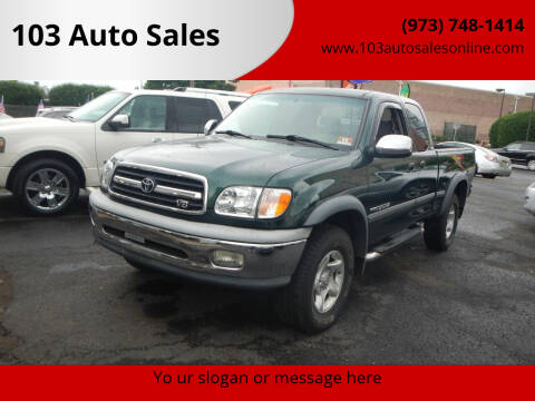 2001 Toyota Tundra for sale at 103 Auto Sales in Bloomfield NJ