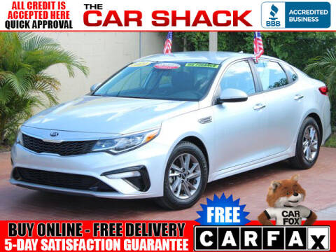 2019 Kia Optima for sale at The Car Shack in Hialeah FL
