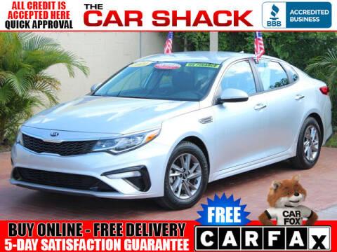 2019 Kia Optima for sale at The Car Shack in Hialeah FL