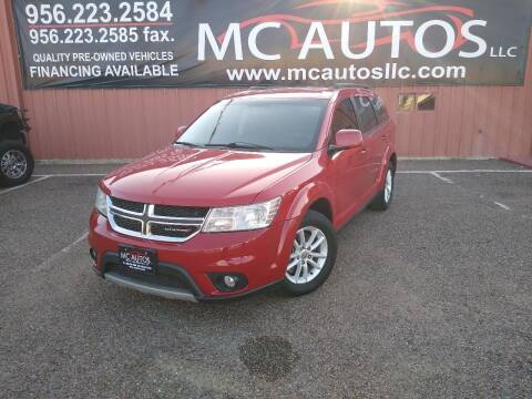 2017 Dodge Journey for sale at MC Autos LLC in Pharr TX