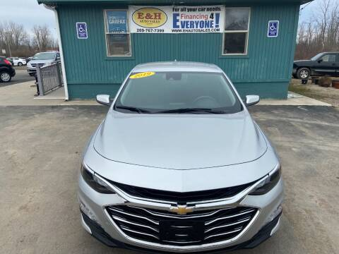 2019 Chevrolet Malibu for sale at E & H Auto Sales in South Haven MI