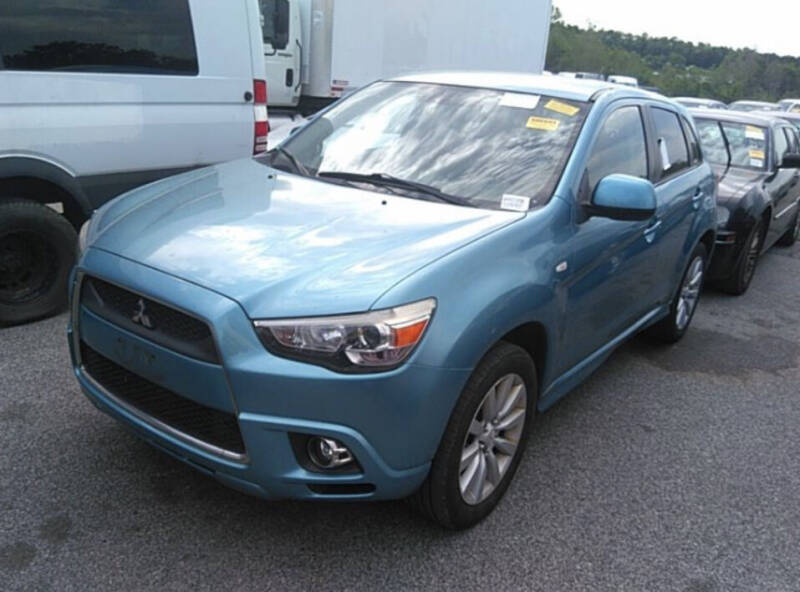 2011 Mitsubishi Outlander Sport for sale at Auto Town Used Cars in Morgantown WV