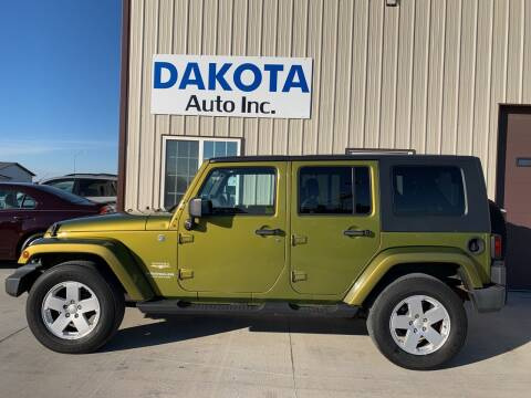 2007 Jeep Wrangler Unlimited for sale at Dakota Auto Inc. in Dakota City NE