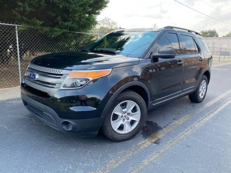 2013 Ford Explorer for sale at El Camino Auto Sales in Gainesville GA