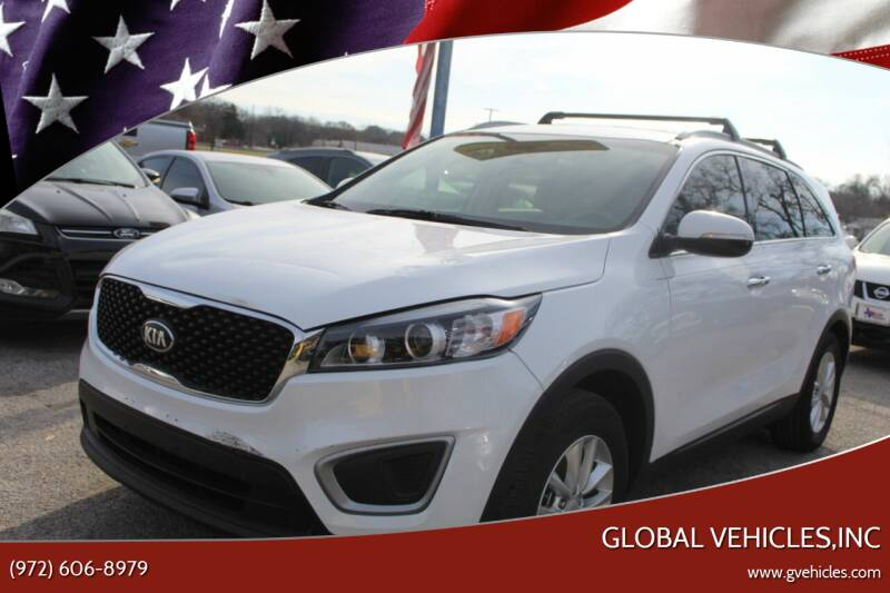 2016 Kia Sorento for sale at Global Vehicles,Inc in Irving TX
