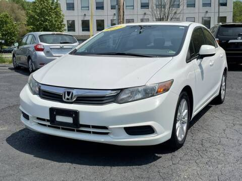 2012 Honda Civic for sale at All Star Auto  Cycle in Marlborough MA