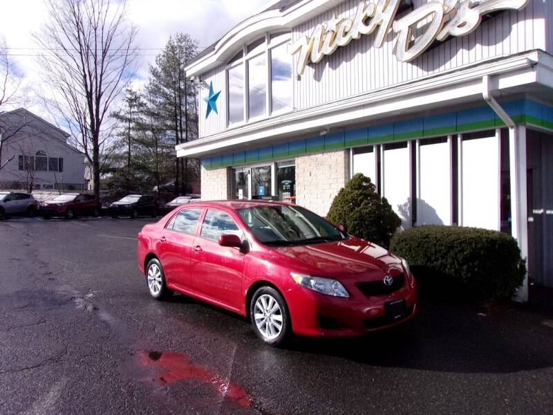 2010 Toyota Corolla for sale at Nicky D's in Easthampton MA