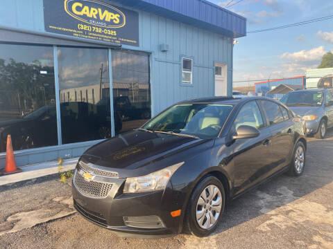 2014 Chevrolet Cruze for sale at CAR VIPS ORLANDO LLC in Orlando FL