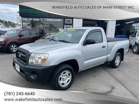 2008 Toyota Tacoma for sale at Wakefield Auto Sales of Main Street Inc. in Wakefield MA