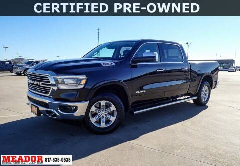 2019 RAM Ram Pickup 1500 for sale at Meador Dodge Chrysler Jeep RAM in Fort Worth TX