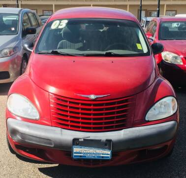 2003 Chrysler PT Cruiser for sale at First Class Motors in Greeley CO