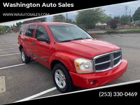 2006 Dodge Durango for sale at Washington Auto Sales in Tacoma WA