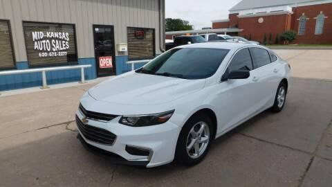 2018 Chevrolet Malibu for sale at Mid Kansas Auto Sales in Pratt KS