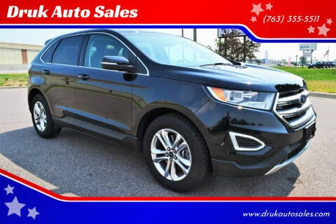 2016 Ford Edge for sale at Druk Auto Sales in Ramsey MN