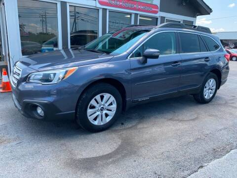 2016 Subaru Outback for sale at Martins Auto Sales in Shelbyville KY