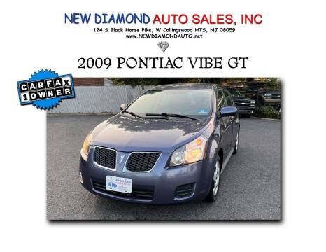 2009 Pontiac Vibe for sale at New Diamond Auto Sales, INC in West Collingswood Heights NJ