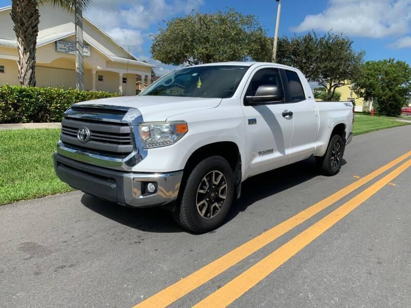 2014 Toyota Tundra for sale at GTR Motors in Davie FL