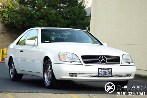 1996 Mercedes-Benz S-Class for sale at Galaxy Autosport in Sacramento CA