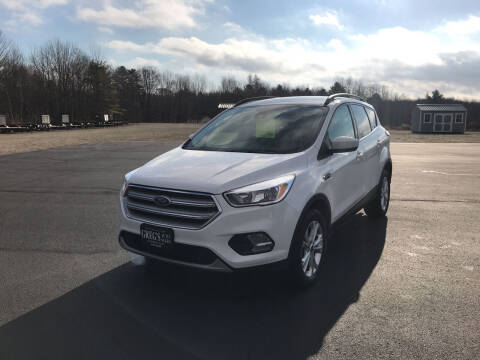 2018 Ford Escape for sale at Greg's Auto Sales in Searsport ME