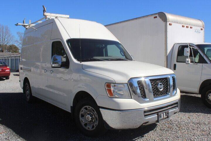 2012 Nissan NV Cargo for sale at Auto Connection 210 LLC in Angier NC
