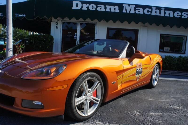 2007 Chevrolet Corvette for sale at Dream Machines USA in Lantana FL