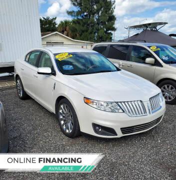 2012 Lincoln MKS for sale at Car Spot Of Central Florida in Melbourne FL