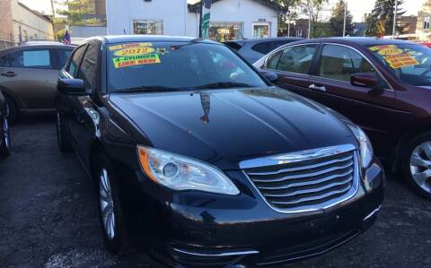 2012 Chrysler 200 for sale at Jeff Auto Sales INC in Chicago IL