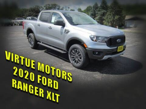 2020 Ford Ranger for sale at Virtue Motors in Darlington WI