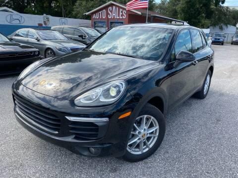 2018 Porsche Cayenne for sale at CHECK AUTO, INC. in Tampa FL