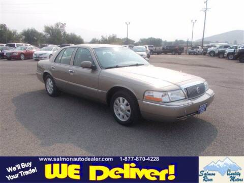 2004 Mercury Grand Marquis for sale at QUALITY MOTORS in Salmon ID