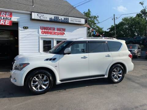 2014 Infiniti QX80 for sale at Car VIP Auto Sales in Danbury CT