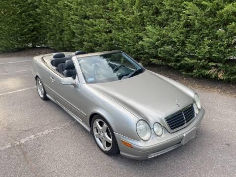 2003 Mercedes-Benz CLK for sale at Limitless Garage Inc. in Rockville MD