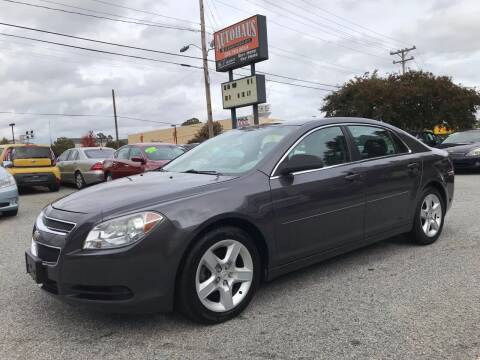 2010 Chevrolet Malibu for sale at Autohaus of Greensboro in Greensboro NC